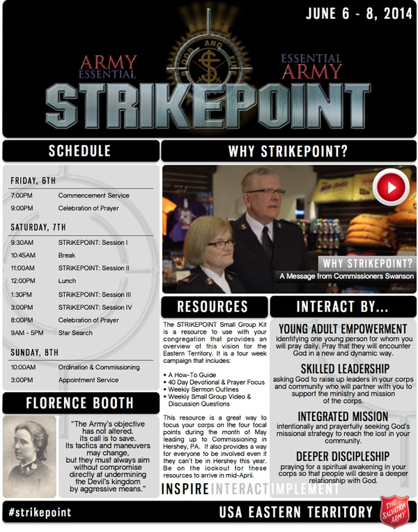 The Salvation Army USA: Eastern Territory - Strikepoint